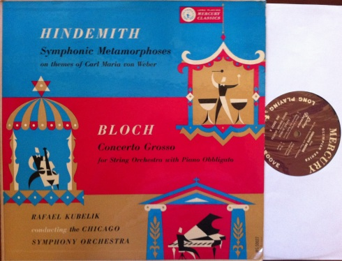 Kubelik conducts Bloch and Hindemith